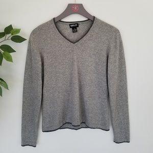 Kirkland Signature 100% Cashmere Gray Sweater Wome